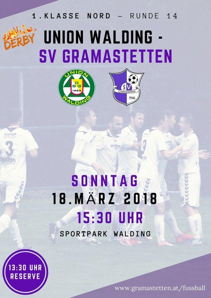 Union Walding - SV Gramastetten