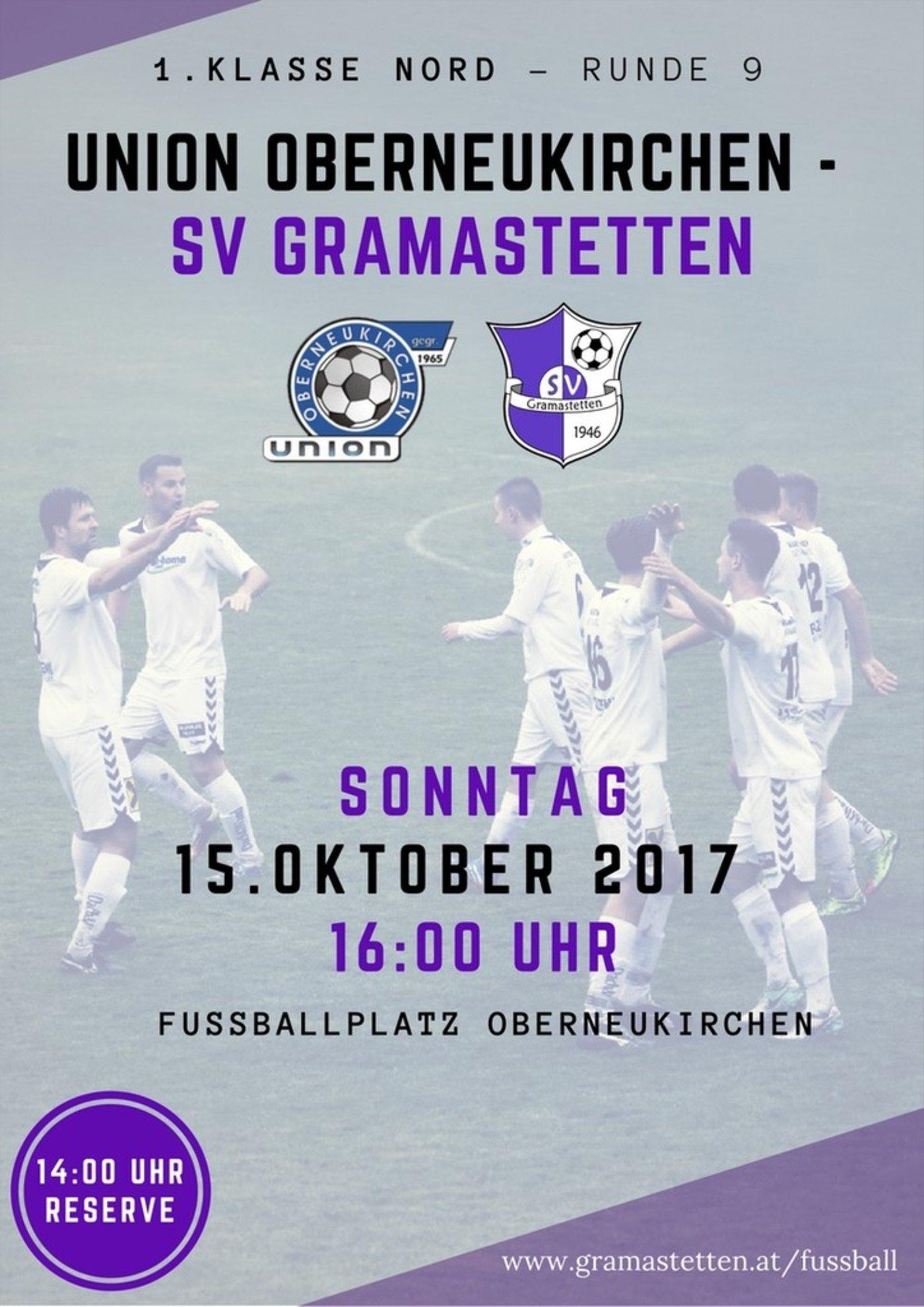 Union Oberneukirchen - SV Gramastetten