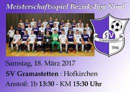SV Gramastetten - Hofkirchen