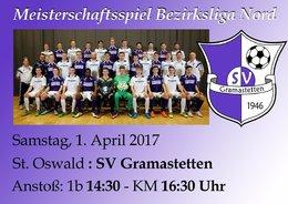 St. Oswald / Freistadt - SV Gramastetten