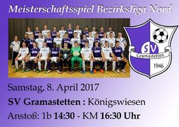 SV Gramastetten - Union Königswiesen