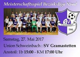 SU Schweinbach - SV Gramastetten