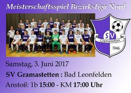 SV Gramastetten - Union Bad Leonfelen