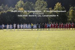 SVGramastetten - U.Vorderweißenbach (Fotos H. Luckeneder)