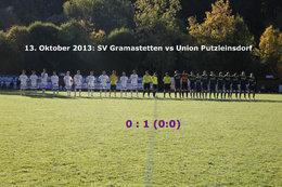 SV Gramastetten - U. Putzleinsdorf (Fotos: H. Luckeneder)