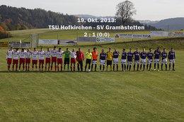 TSU Hofkirchen - SV Gramastetten (Fotos: H. Luckeneder)