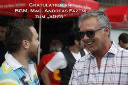 Sag leise Servus, Gratulationen (Fotos: H. Luckeneder)