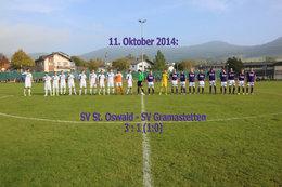 St. Oswald-SV Gramastetten (Fotos: H. Luckeneder)