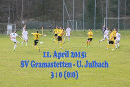 SV Gramastetten - Union Julbach (Fotos: H. Luckeneder)