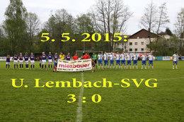 Union Lembach - SV Gramastetten (Fotos: H. Luckeneder)