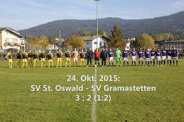 SV St. Oswald-SV Gramastetten (Fotos: H.Luckeneder)