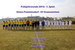 U. Putzleinsdorf - SV Gramastetten (Fotos: H. Luckeneder)