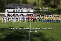 SV Gramastetten - U. Lembach (Fotos: H. Luckeneder)