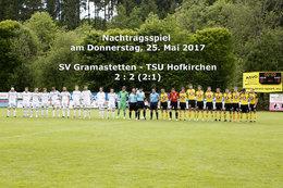 SVGramastetten - TSU Hofkirchen (Fotos: H. Luckeneder)