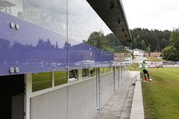 Tribüneneröffnung (Fotos: H. Luckeneder)
