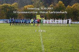 SV Gramastetten - Union Sarleinsbach (Fotos: H. Luckeneder)