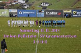 U. Peilstein - SV Gramastetten (Fotos: H. Luckeneder)