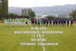 U. Sarleinsbach-SV Gramastetten (Fotos: H. Luckeneder)